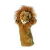 grande marionnette peluche a main lion 26022