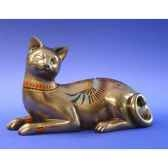 figurine chat catistic lying wu68929