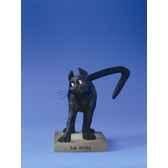 figurine chat le chat domestique la ruse cd08