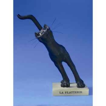 Figurine Chat - Le Chat Domestique - La Flatterie - CD04