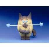 figurine chat felin pour autre maxou lamadou ff01
