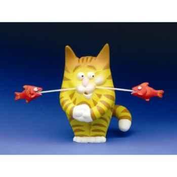 Figurine Chat - Felin pour l\'autre - Freddy Friture - FF03