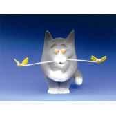 figurine chat felin pour autre billy butineur ff05