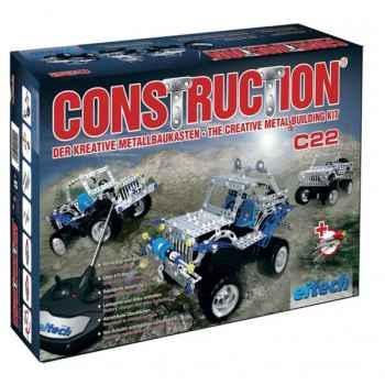 Construction Eitech auto tout terrain avec commande - 100022