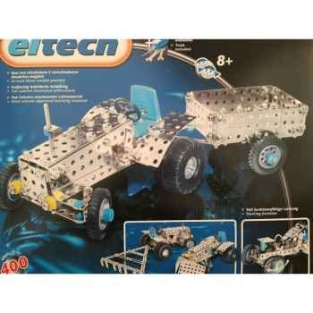 Construction Eitech tracteur avec remorque - 100003