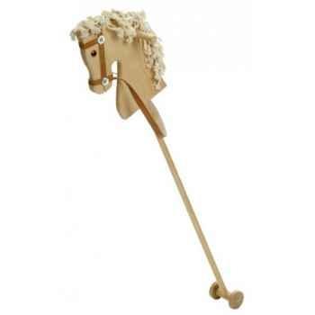 Cheval bâton en bois de hêtre  -  95 cm - 1130