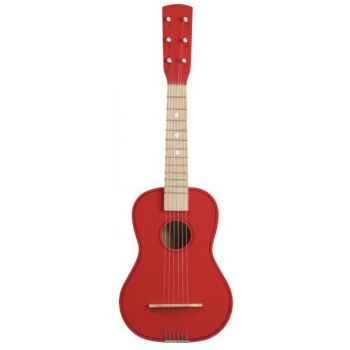 Guitare couleur rouge - 0301