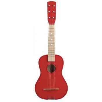Guitare couleur rouge - 0301