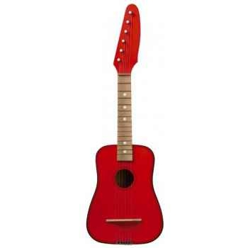 Guitare de rock couleur rouge - 0315