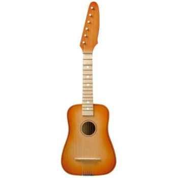 Guitare de rock couleur orange - 0316