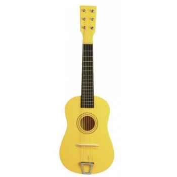 Guitare couleur jaune - 0343
