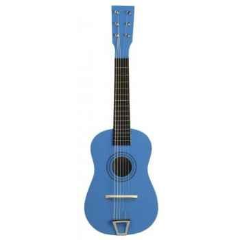 Guitare couleur bleu - 0342