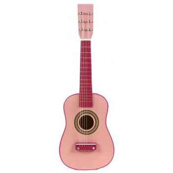 Guitare couleur rose - 0345
