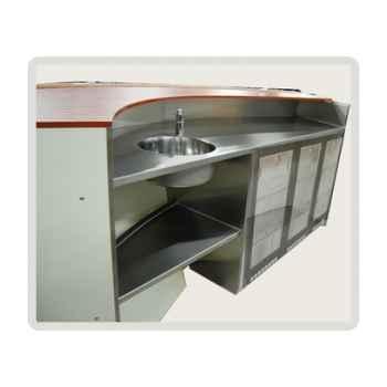 Comptoir 3m pro Deckline -DLWS07