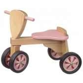 tricycle couleur rose et nature1392