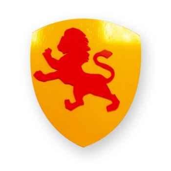 Boucliers en bois Lion -04751