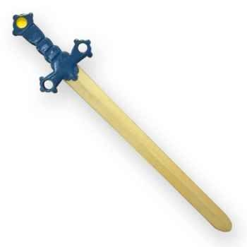 Epée Damoclès avec garde bois -04621