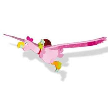 Mobile volant oiseau en bois Marguerite -12350