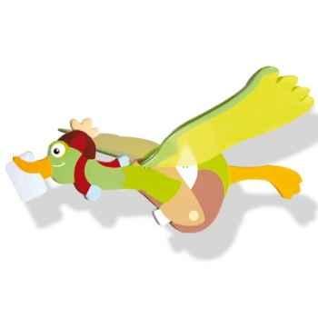 Mobile volant oiseau bois Peter le facteur-12343