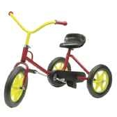 tricycle a chaine n33 tricolore de 2 a 4 ans 00112m