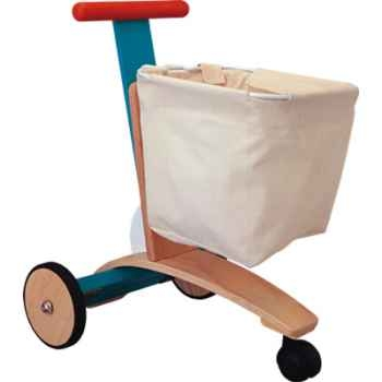 Chariot épicerie en bois - Plan Toys 3426