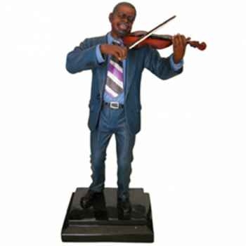 Figurine résine violon Statue Musicien -Y10ZP-535