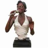 buste resine chanteuse statue musicien y10zp 519