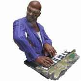 buste resine clavier statue musicien y10zp 708