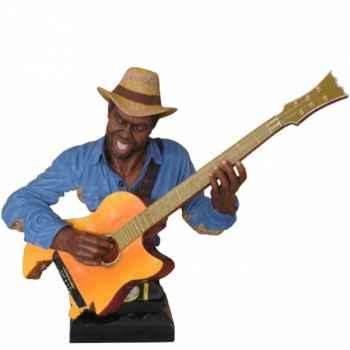 Buste résine guitare Statue Musicien -Y10ZP-621