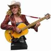 buste femme resine guitare statue musicien y30zp 801