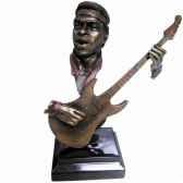 figurine resine facon metaguitare statue musicien y10zp 720