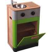 evier lave vaisselle en bois plan toys 3441