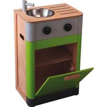 Evier lave vaisselle en bois - Plan Toys 3441