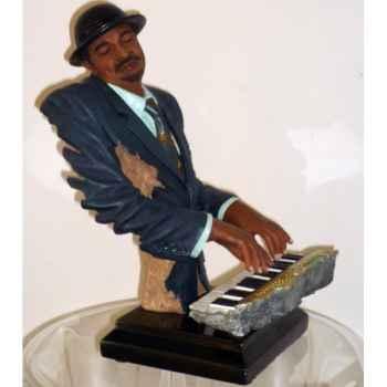 Figurine résine clavier Statue Musicien -Y20ZP-1524