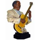 figurine resine guitare statue musicien y20zp 1521