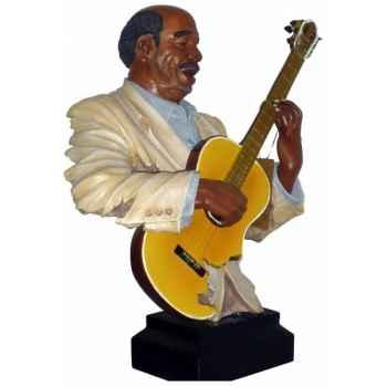 Figurine résine guitare Statue Musicien -Y20ZP-1521