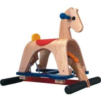 Matheo Cheval de rodéo à bascule en bois - Plan Toys 3405