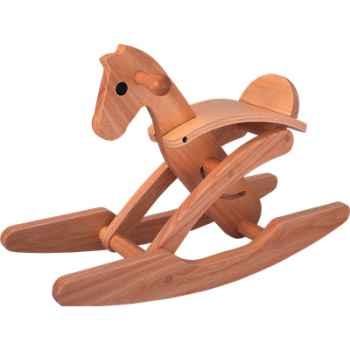 Cheval à bascule chevalier en bois - Plan Toys 3418