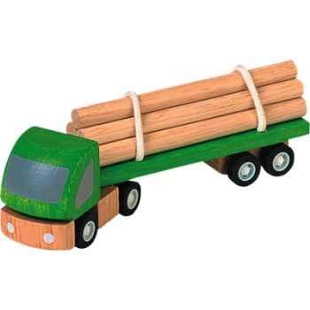 Camion transporteur en bois - Plan Toys 6005