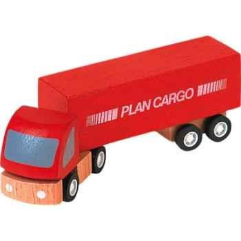 Semi remorque en bois - Plan Toys 6006