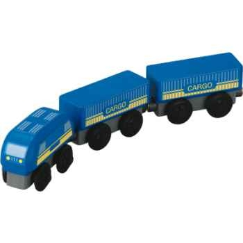 Train de marchandises en bois - Plan Toys 6093