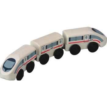 Train express en bois - Plan Toys 6035