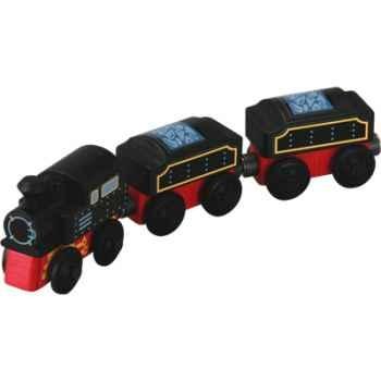 Train traditionnel en bois - Plan Toys 6095