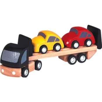 Transport de voitures en bois - Plan Toys 6043