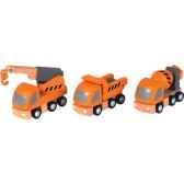 vehicules d entretien en bois plan toys 6047