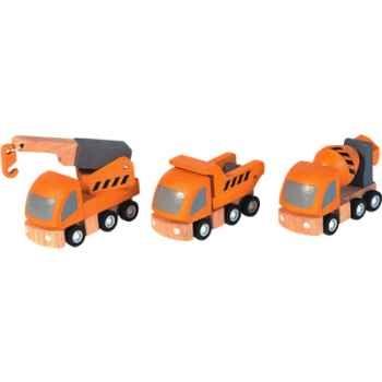 Véhicules d\'entretien en bois - Plan Toys 6047