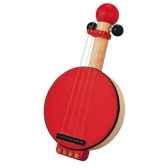 banjo en bois plan toys 6411