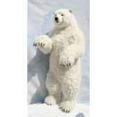 peluche automate ours polaire dresse 190cmh 90cm4014 anima 0116