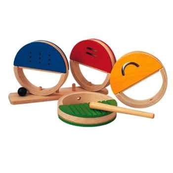 Ensemble de percussions en bois - Plan Toys 6407
