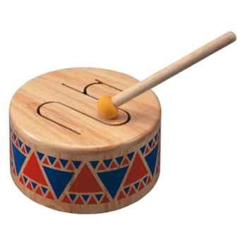 Tambourin en bois - Plan Toys 6404